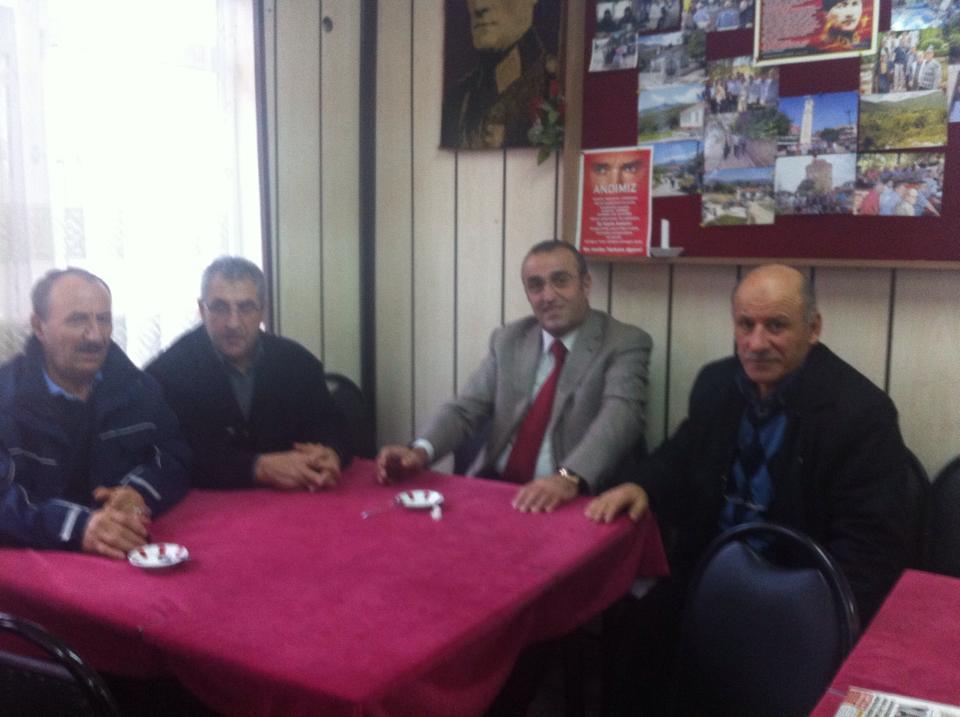 Abdurrahim ALBAYRAK'ın Kayabaşı ziyareti