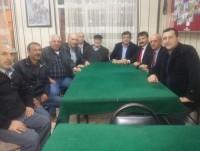 Beykoz Trakyalılar Dernek Başkanı Sacit Kara ve Sultangazi Bld. Bşk. Yrd. Nurgun